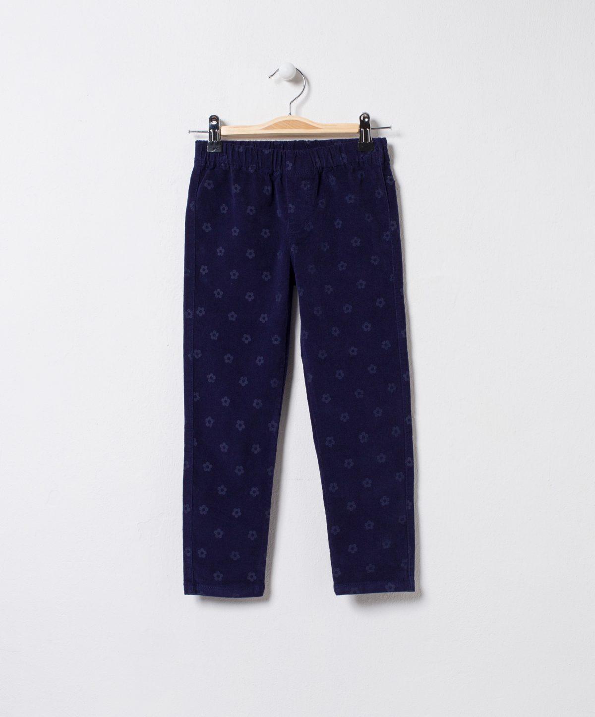 Pantaloni colanti catifea