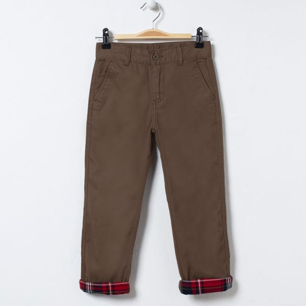 Pantaloni cu manseta