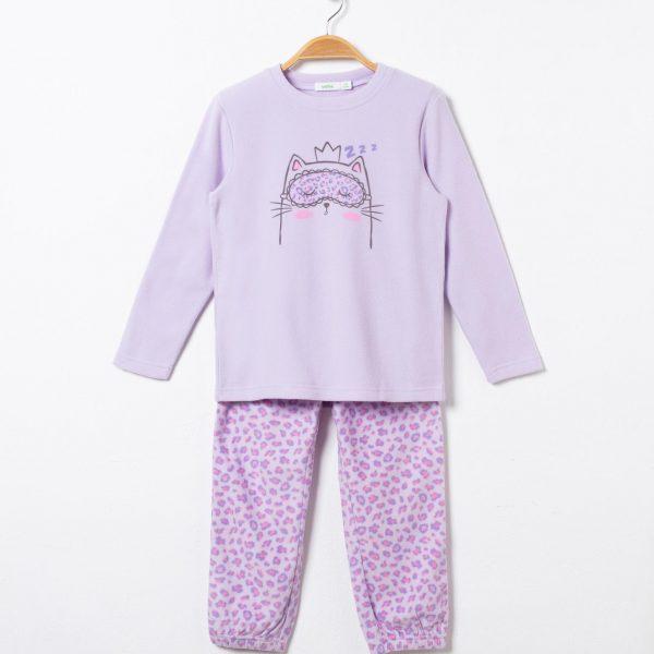 Pijama polar fetite