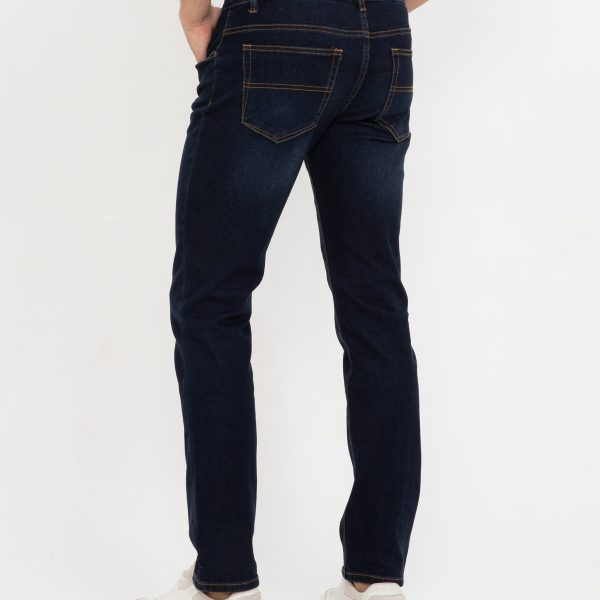 Pantaloni blugi cu talie medie
