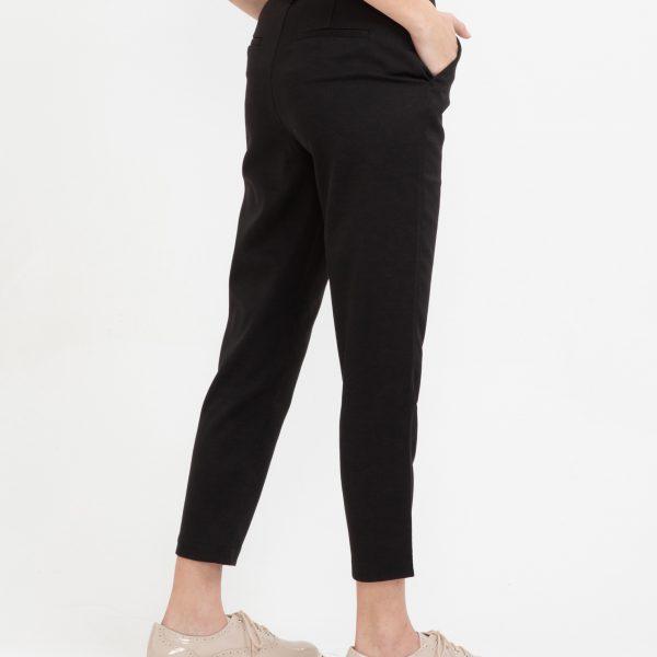 Pantaloni pana la glezne elastici