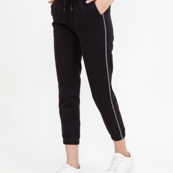Pantaloni cu dunga laterala