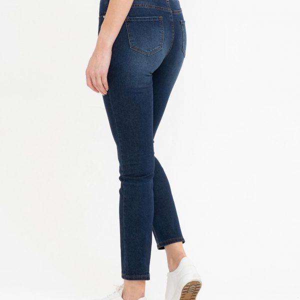 Pantaloni blugi talie medie