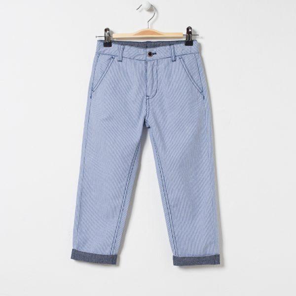 Pantaloni chino in dungi