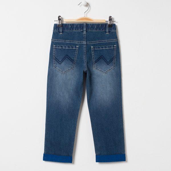 Pantaloni blugi cu talie reglabila